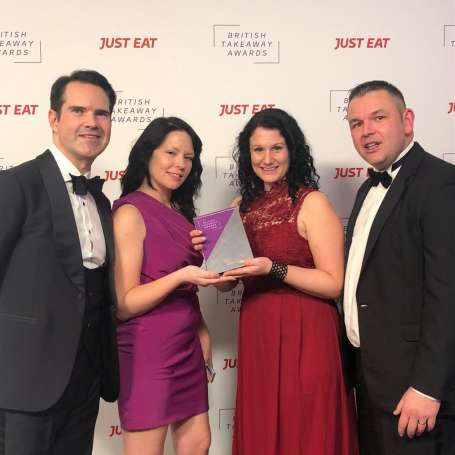 Buena Comida Crowned Best Takeaway In the West Midlands at the British Takeaway Awards!
